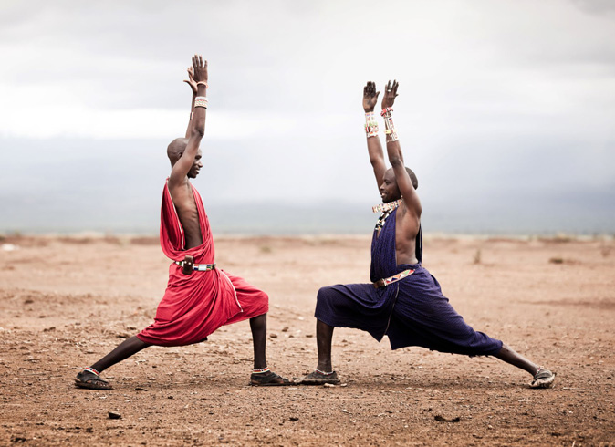 Friends at The Africa Project - Light Space Yoga